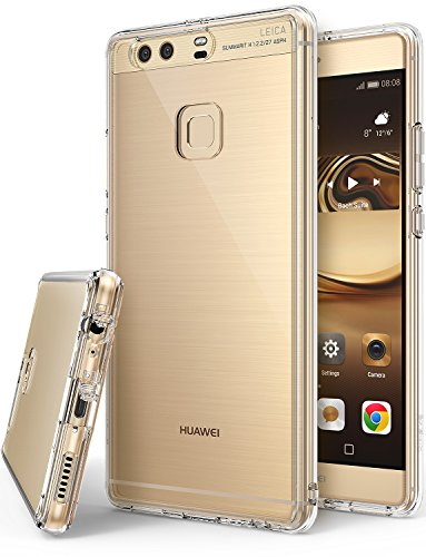 Huawei P9 Plus Case  Ringke [FUSION] Crystal Clear PC Back TPU Bumper [Drop Protection / Shock Absor
