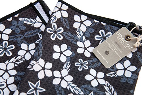 Vintage Flower by Uther Golf - Microfiber Golf Towel