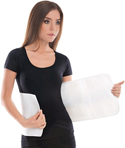 "TOROS-GROUP Elastic 9"" Abdominal Binder / Postpartum & Post Operative Belly Wrap - X-Large  Wai"