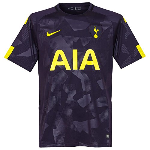 Nike Breathe Mens Tottenham FC Stadium Third Soccer Jersey (Small) Purple Dynasty