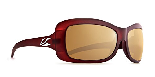 Kaenon Womens Georgia Polarized Sunglasses  Gold Coast / Brown 12