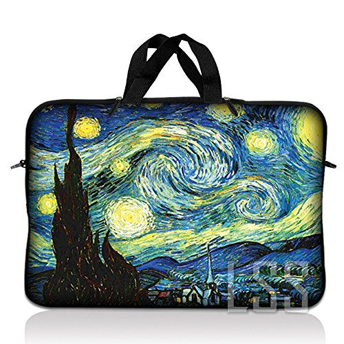 "LSS 13.3 inch Laptop Sleeve Bag Carrying Case Pouch with Hidden Handle for 13.3"" 13"" 12.1&"